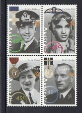 AUSTRALIA 1995-AUSTRALIA REMEMBERS II  BLOCK OF 4  MUH