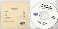 COLDPLAY Parachutes 2000 UK Town House 11-track promo test CD