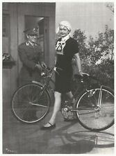 """I Love Lucy Lucille Ball Lucy's Bicycle Trip Schwann Bike 1997 5""""x7"""" TV Postcard"""