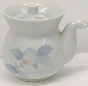 Porcelain Soy Sauce Pot Dispenser With Lid  Made in Japan