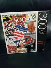Rolling Stone 300 Piece Jigsaw Puzzle Unopened