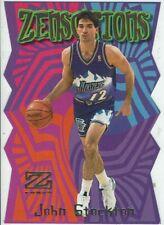 Trading Card Card NBA Skybox 1998 Zensations John Stockton