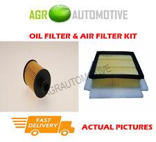 DIESEL SERVICE KIT OIL AIR FILTER FOR FIAT DOBLO CARGO 1.6 105 BHP 2010-