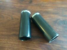 MONGOOSE BMX BIKE / BICYCLE STUNT / AXLE PEGS.  **BLACK**