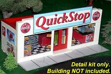 Super Detail Kit for Convenience Store Plasticville Small Market S Scale (1/64)