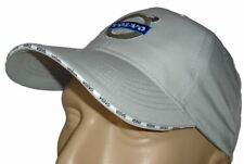 VOLVO CLASSIC BASEBALL CAP GRAY HAT LOGO EMBROIDERED IN FRONT ADJUSTABLE