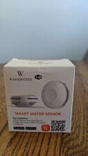 Smart WiFi Water Leak Sensor, Flood Level Detector, Overflow Alarm, Free App