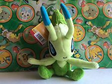 Pokemon Plush Celebi Jakks legit doll figure stuffed animal toy go USA Seller