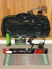 Loaded, Mathews Heli-m Solocam TACTICAL Bow Package - Helium - Helim- RH-55-65lb