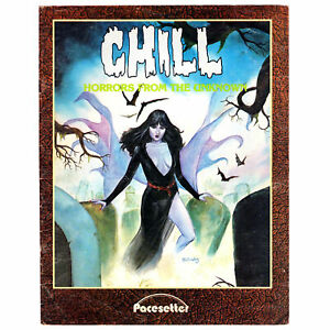 Chill RPG Horrors from the Unknown - Pacesetter D&D Sourcebook Pre-owned THG