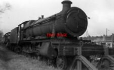 PHOTO  EX-GWR 'HALL' 6904 'CHARFIELD HALL'  BANBURY MPD 13.4.65  SHORN OF BUFFER