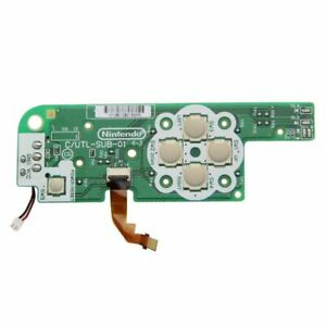 Nintendo DSi XL power Fuse Directional button replacement PCB circuit board UK