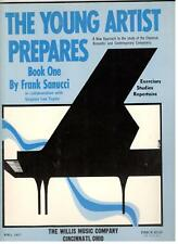 The Young Artist Prepares Book One-Piano Music Book By Frank Sanucci-New On Sale