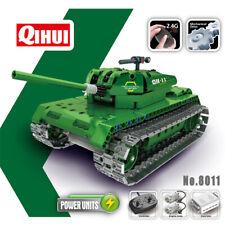 RC Panzer Militär Bausteinpanzer Ferngesteuert, Baustein Modell für Kindern ab 6