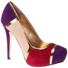 Zapatos de tacón de mujer de color principal multicolor talla 37