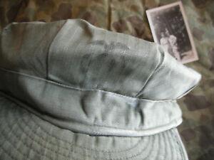 KOREAN WAR USMC FIELD CAP & ORIGINAL PHOTO 1st MARINE COMBAT SERVICE GROUP LOT