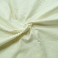 Plain Coloured 100% Cotton Fabric Wincyette Flannel Brushed Cotton