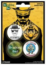BREAKING BAD - Heisenberg Official badge pack 4 - NEW