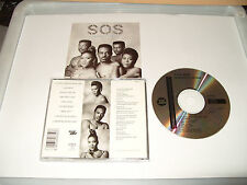 S O S BAND - DIAMONDS IN THE RAW -9 TRACK EARLY PRESS CD-1989 -OLD SKOOL GROOVE-