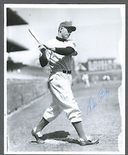 Dee Fondy signed Chicago Cubs 8 x 10 photo 1924-1999