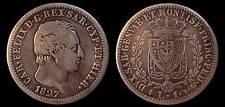 pci721) Savoia Carlo Felice 1 lira TO 1827