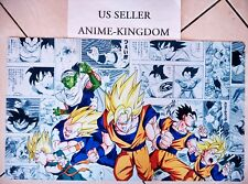 Custom Yugioh Playmat Play Mat Large Mouse Pad Dragon Ball Z Goku & Manga #561