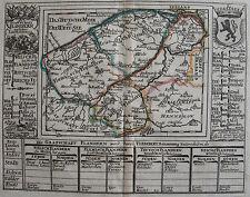CARTE DIE GRAFSCHAFT FLANDERN, BODENEHR, 1704