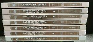 Cardcaptor Sakura Collector's Edition English Manga Vol 1-7 Hardcover *Sealed*