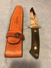 "R.W. Loveless Knife ""Maker"" Dixon Fighter Signature Logo-Rare-mint"