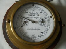 Antique Thomas Walker & Sons Ltd Trident Electric Log