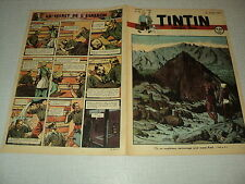 TINTIN 1947/34 (21/8/47) EDGAR P JACOBS LE SECRET DE L'ESPADON HERGE