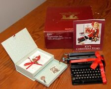 American Girl Kit's Typewriter Set-RETIRED Version from the AG Collection-EUC