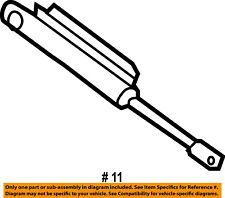 CHRYSLER OEM 05-08 Crossfire Motor-Convertible/soft Top-Rear Sensor 5143306AA