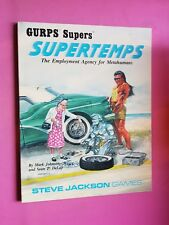 GURPS Héroes-supertemps Rpg Rol de superhéroe Steve Jackson Games intrépidos