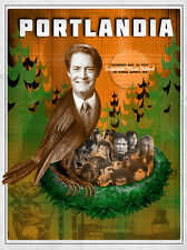 Portlandia Concert Poster - Jon Smith - Artist Proof - Limited Edition