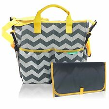Baby Diaper Bag with a Wet Bag and Changing Pad