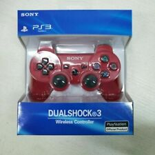 PS3 wireless DualShock 3 CONTROLLER JOYSTICK GAMEPAD PER PlayStation 3 Rosso