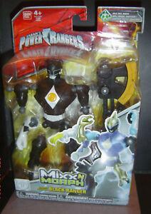 Power Rangers Mixx N Morph Mighty Morphin BLACK RANGER Rare MMPR Mix MOC