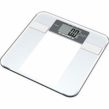 6 in 1 electronice body fat glass scale 150 kg 1.5 lcd dispay