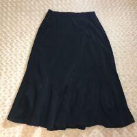 ASHRO Long Black Skirt Formal Size 16