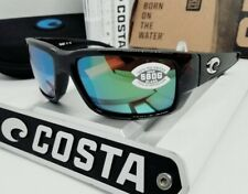 580G COSTA DEL MAR tortoise/green mirror FANTAIL POLARIZED sunglasses NEW IN BOX