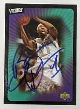 Baron Davis Signed New York Knicks 2003 Upper Deck Card #60 Autographed UCLA