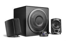 wavemaster MOODY - Kit d'enceintes Stereo 2.1 Noir (65 Watts)