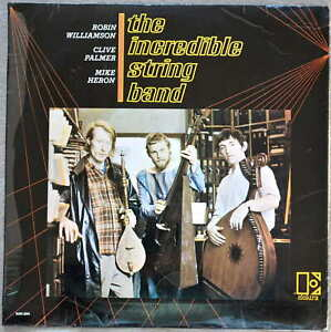 The Incredible String Band - The Incredible String Band 1966 Green & White label