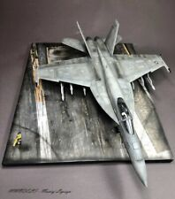 F-18E Super Hornet on deck - 1:48 - built and painted (Pro-built) - MModels