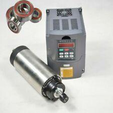 EU 1.5KW Air Cooled Spindle Motor ER16 & 1.5KW VFD Inverter Drive CNC