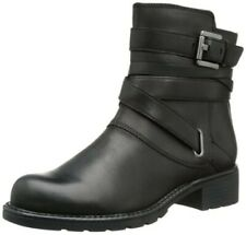 Clarks Ladies Ankle Boots ORINOCO SASH Black Leather UK 6.5 / 40