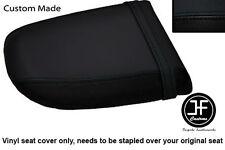Vinyle noir sur mesure pour Honda CBR 900 02-03 Arrière Arrière Housse De Siège uniquement