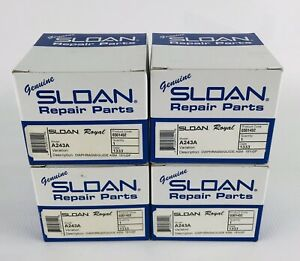 4x Genuine SLOAN Royal A243A REPAIR KIT Flush Valve Diaphragm/Guide ASM 0301452