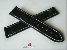 CINTURINO PER OMEGA SPEEDMASTER DEPLOYANTE 21/18MM NERO WATCH BAND STRAP CORREA